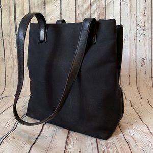 Vintage Coach Shoulder Black Bag Purse